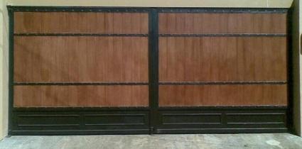 Puertas de hierro forjado en costa rica verjas barandas - Verjas de madera ...